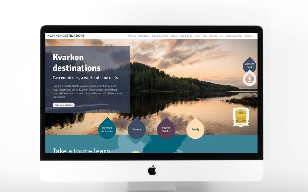 Vårt projekt inom turismsamarbete prisas internationellt!