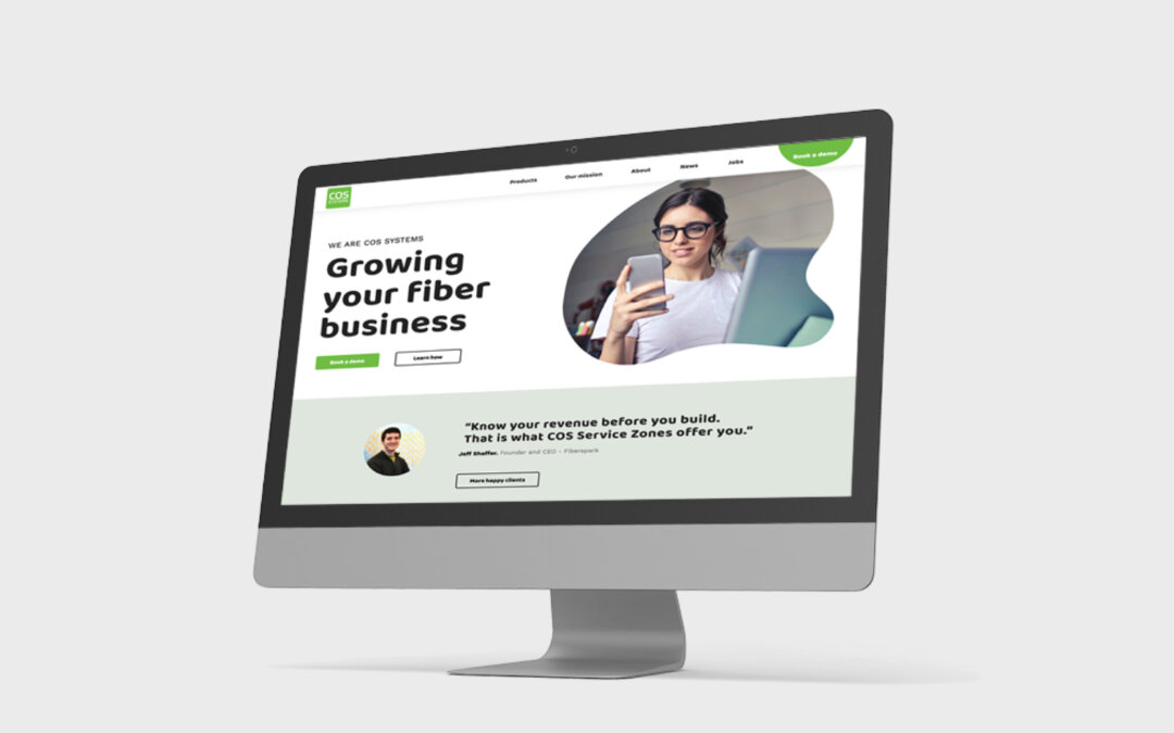 Ny webbplats – COS Systems
